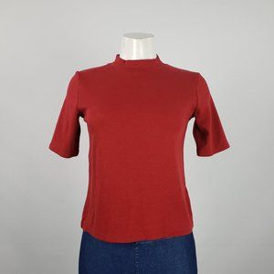 Abercrombie & Fitch Red Top Size S